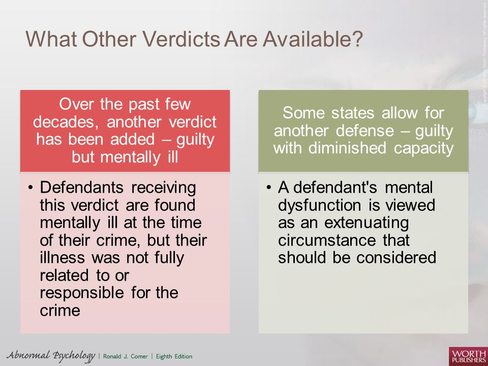 What Other Verdicts Are Available