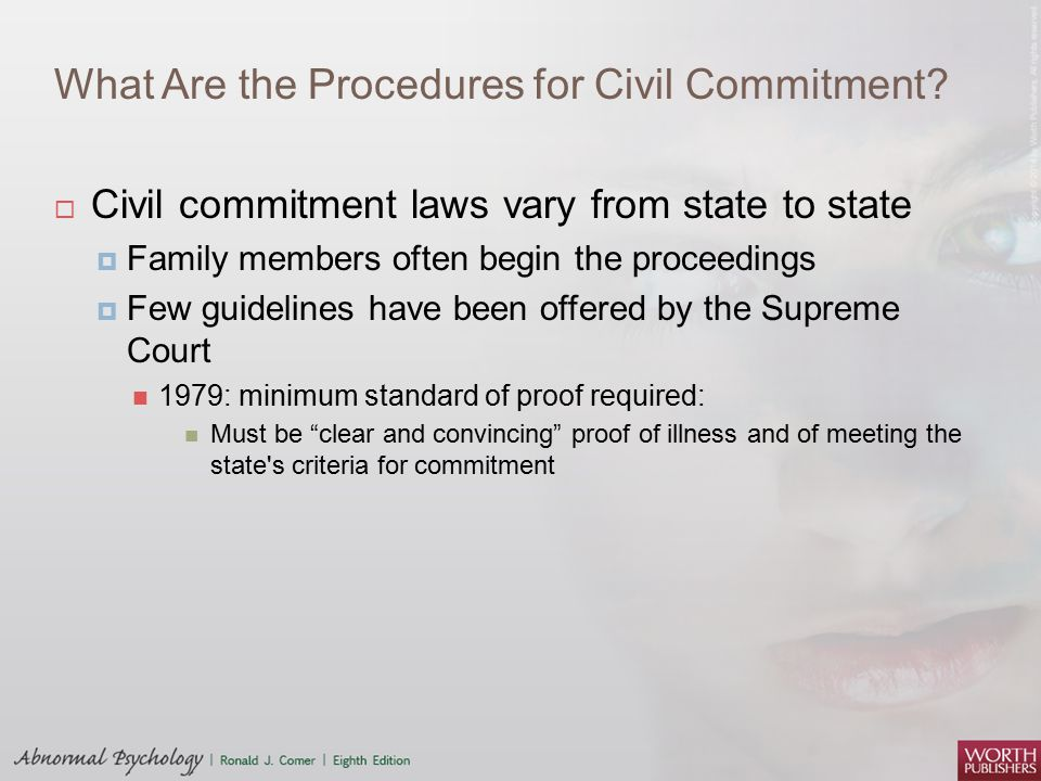 What Are the Procedures for Civil Commitment
