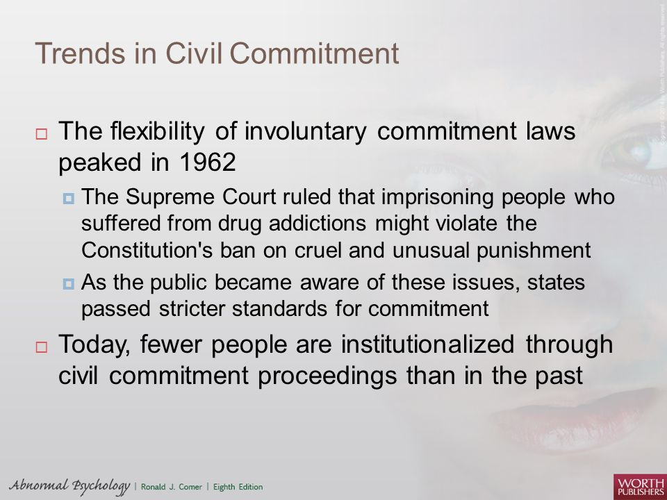 Trends in Civil Commitment