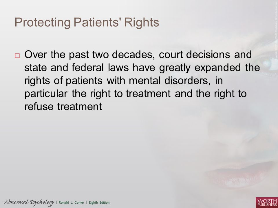 Protecting Patients Rights