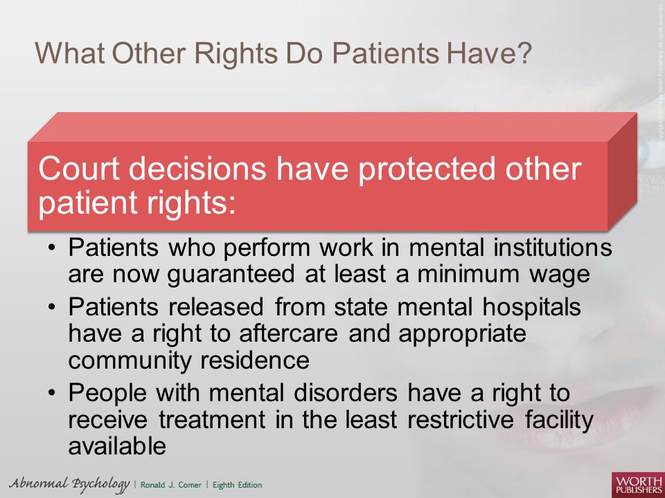 What Other Rights Do Patients Have