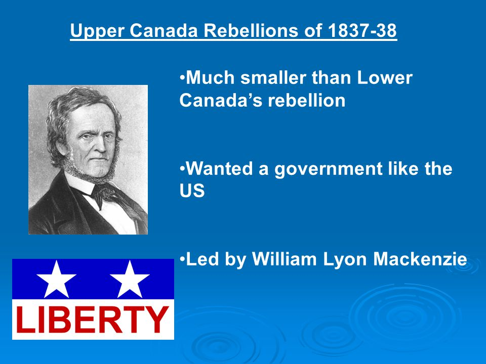 Upper Canada Rebellions of 1837-38