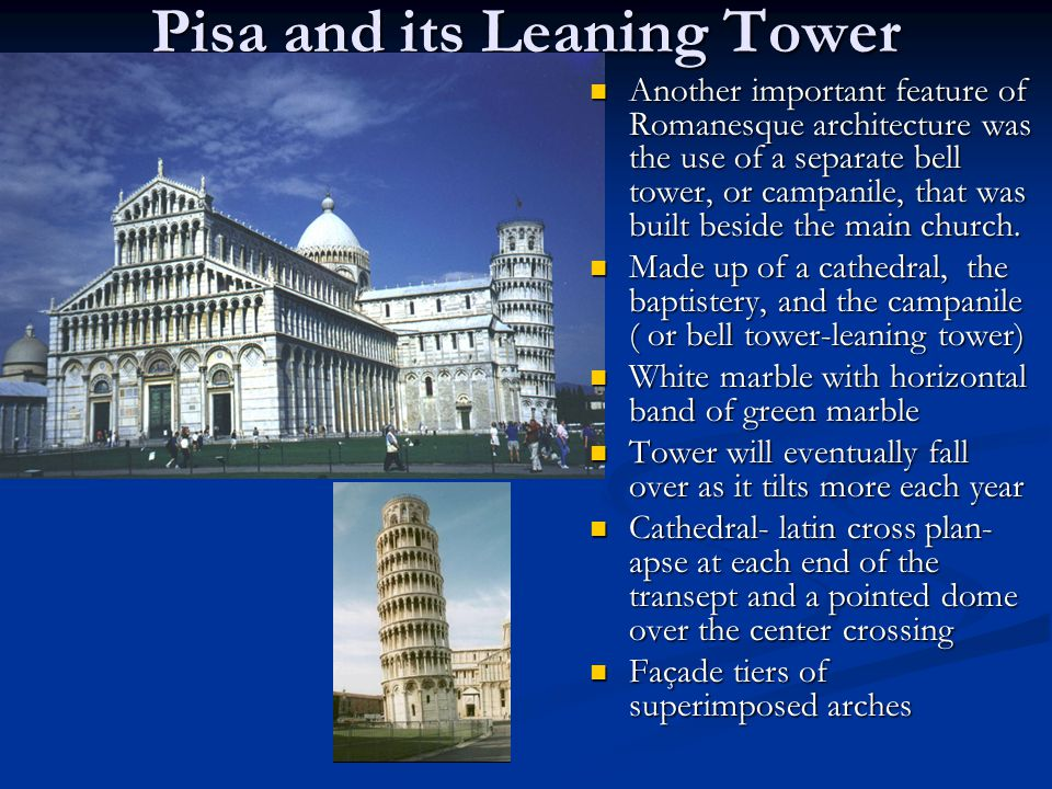 Pisa and its Leaning Tower