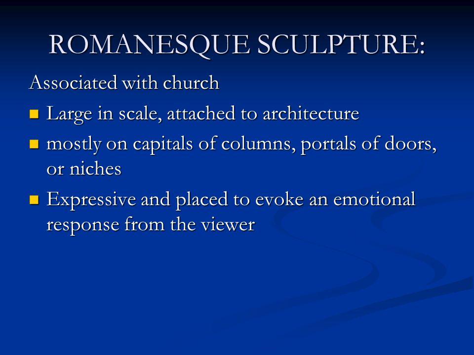 ROMANESQUE SCULPTURE: