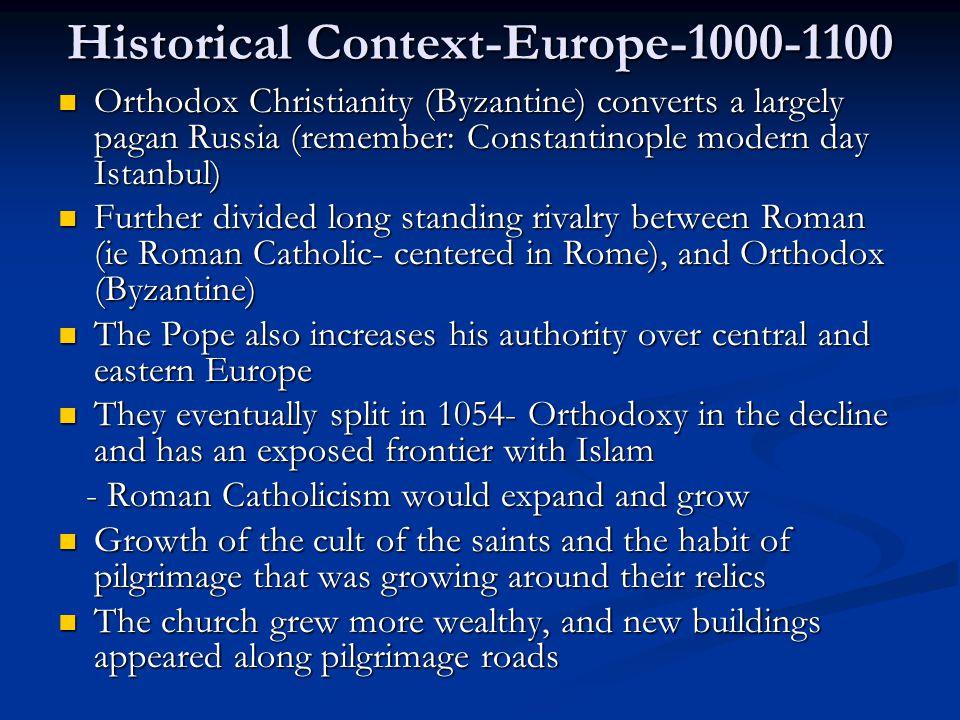 Historical Context-Europe-1000-1100