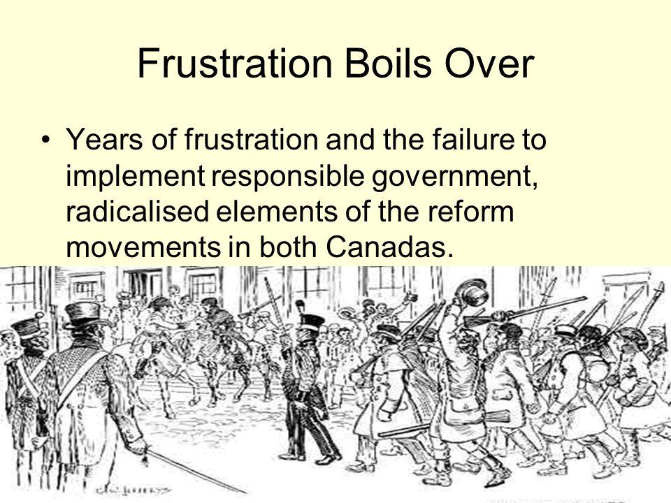Frustration Boils Over
