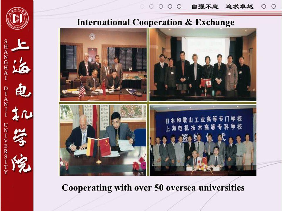 International Cooperation & Exchange