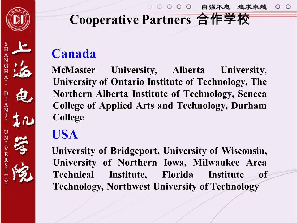 Cooperative Partners 合作学校