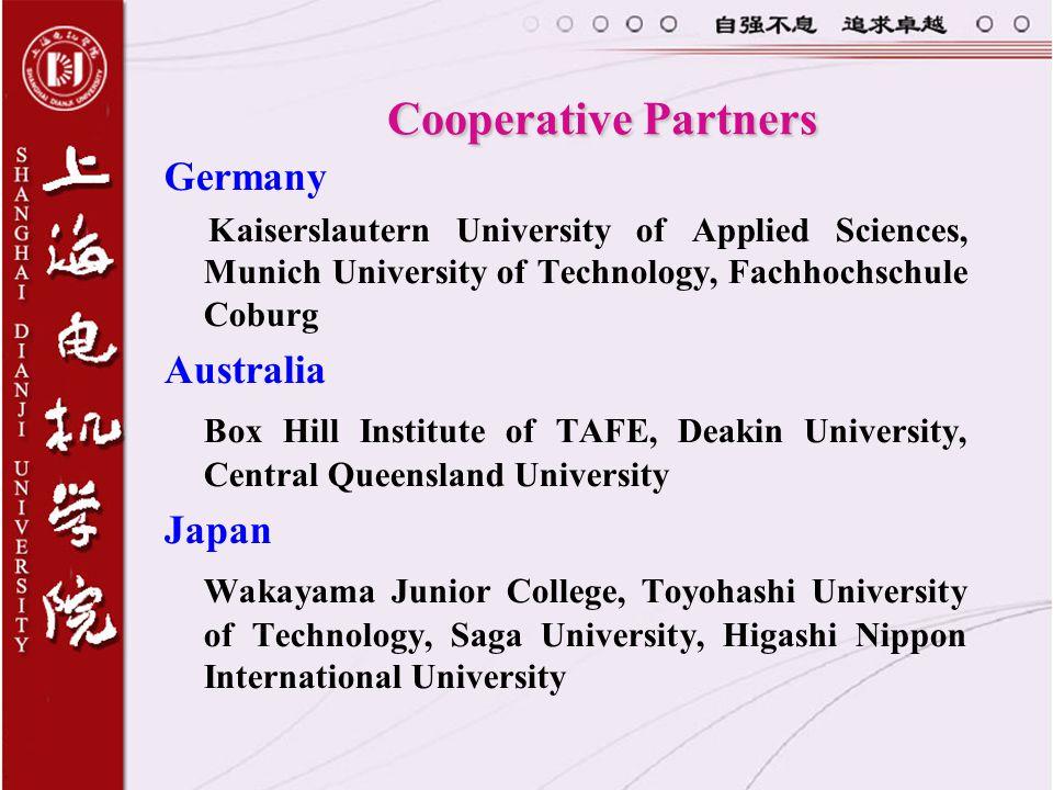 Cooperative Partners Germany Australia
