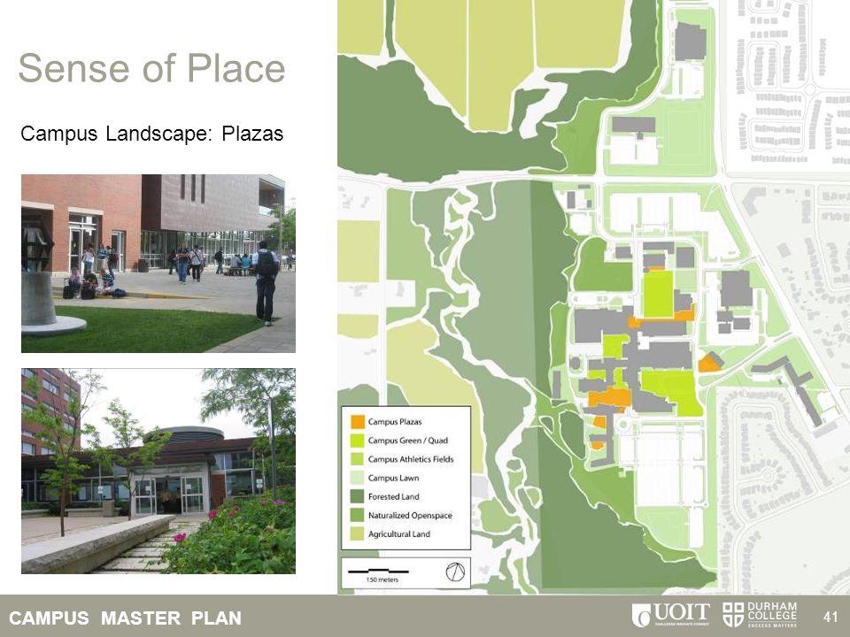Sense of Place Campus Landscape: Plazas