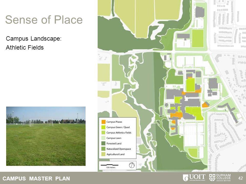 Sense of Place Campus Landscape: Athletic Fields