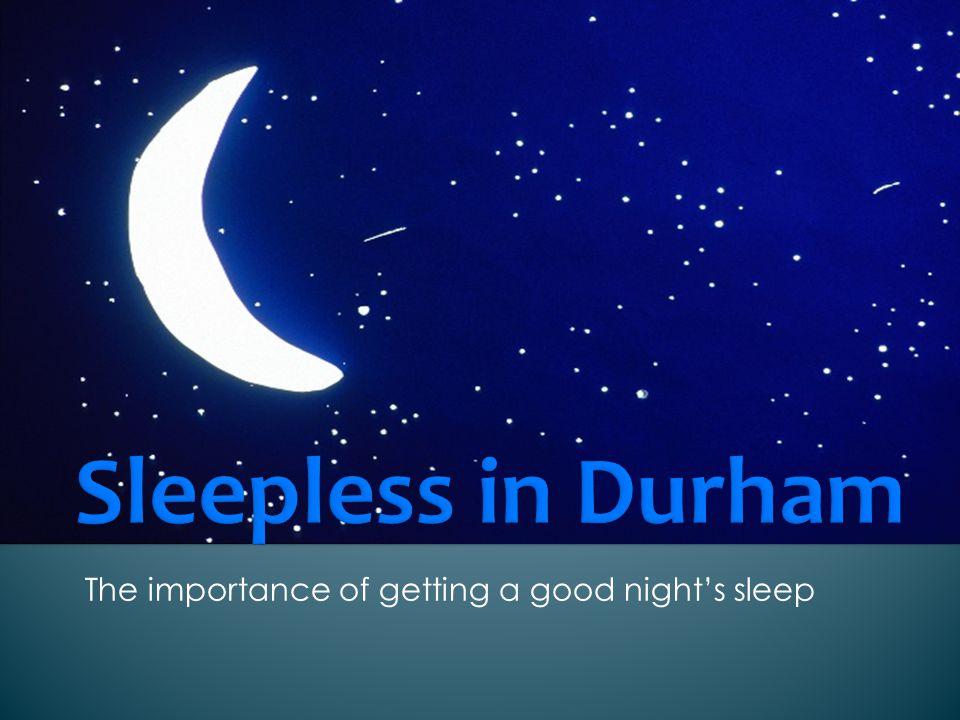 importance of sleep essay