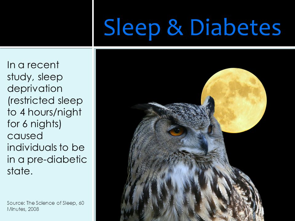 Sleep & Diabetes