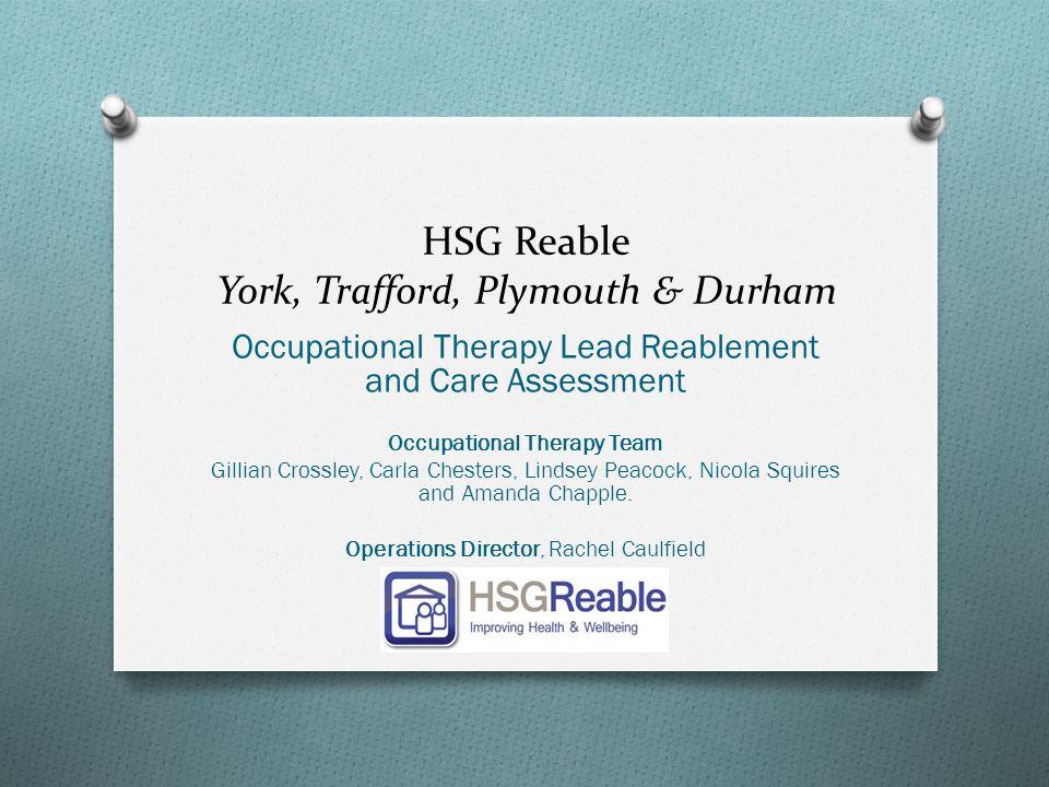 HSG Reable York, Trafford, Plymouth & Durham