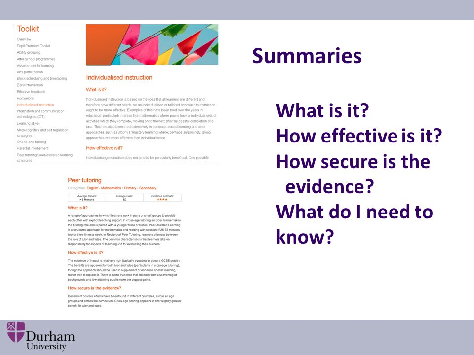 What is it How effective is it How secure is the