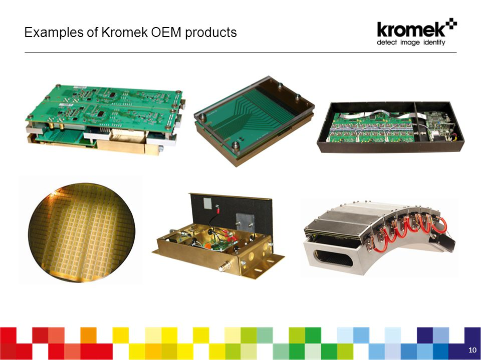 Examples of Kromek OEM products