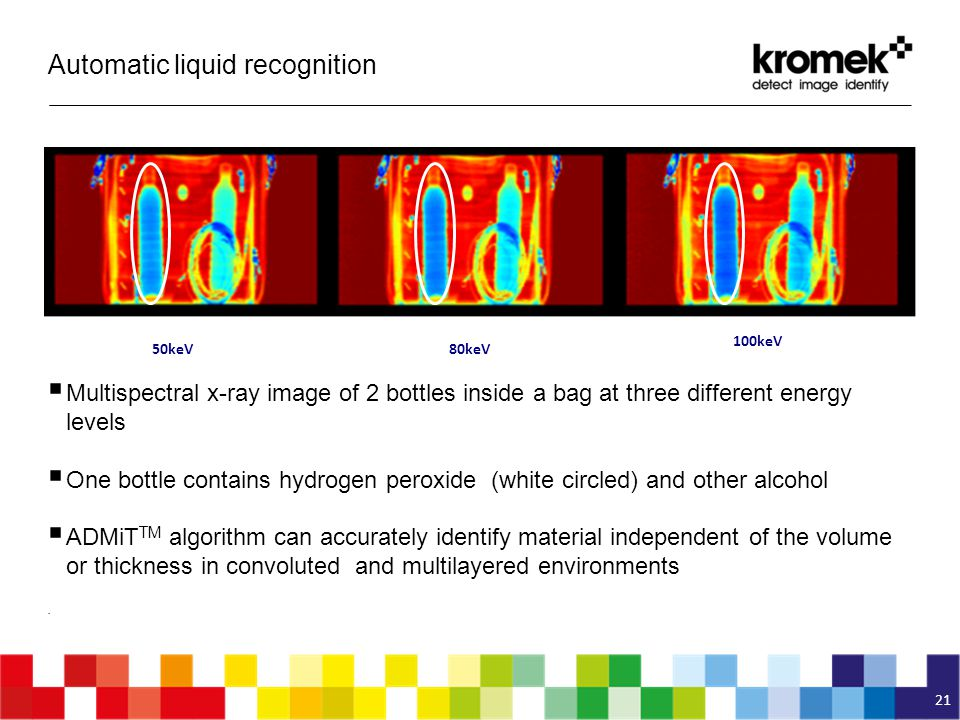 Automatic liquid recognition