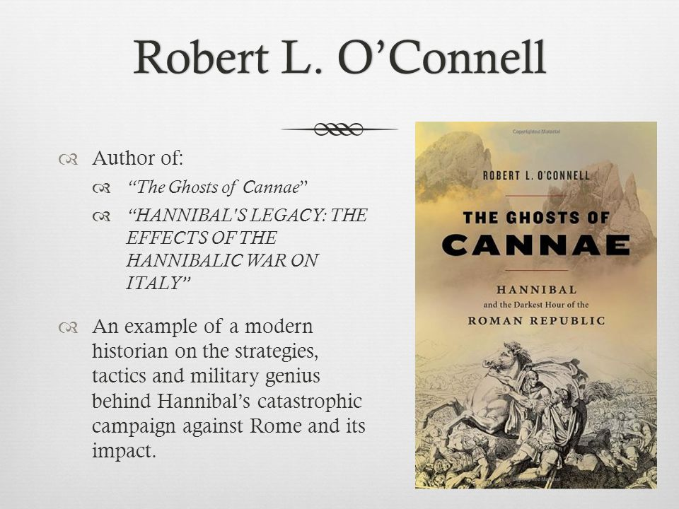 Robert L. O'Connell Author of: