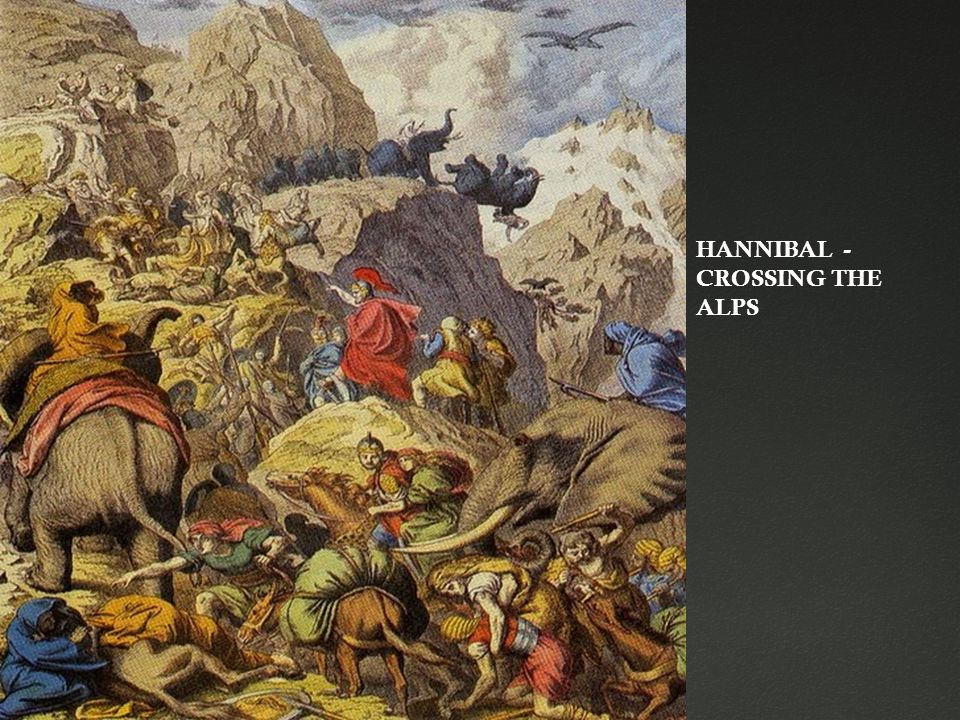 HANNIBAL - CROSSING THE ALPS