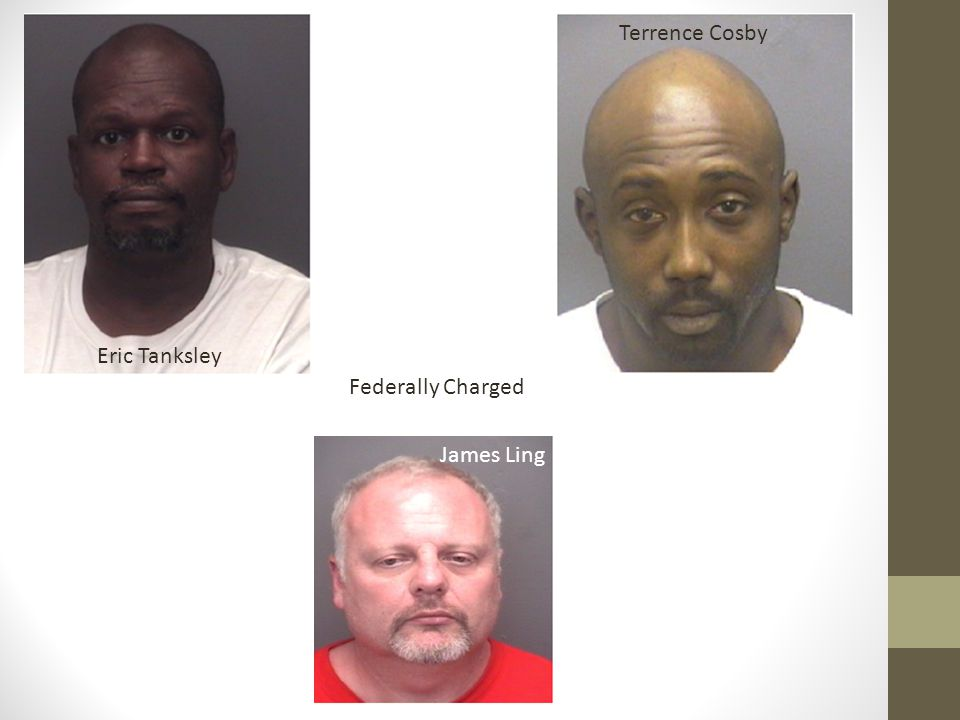 Terrence Cosby Eric Tanksley Federally Charged James Ling