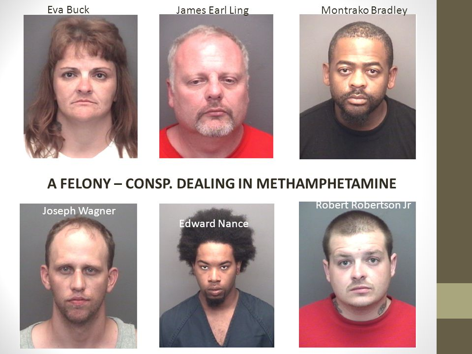 A FELONY – CONSP. DEALING IN METHAMPHETAMINE