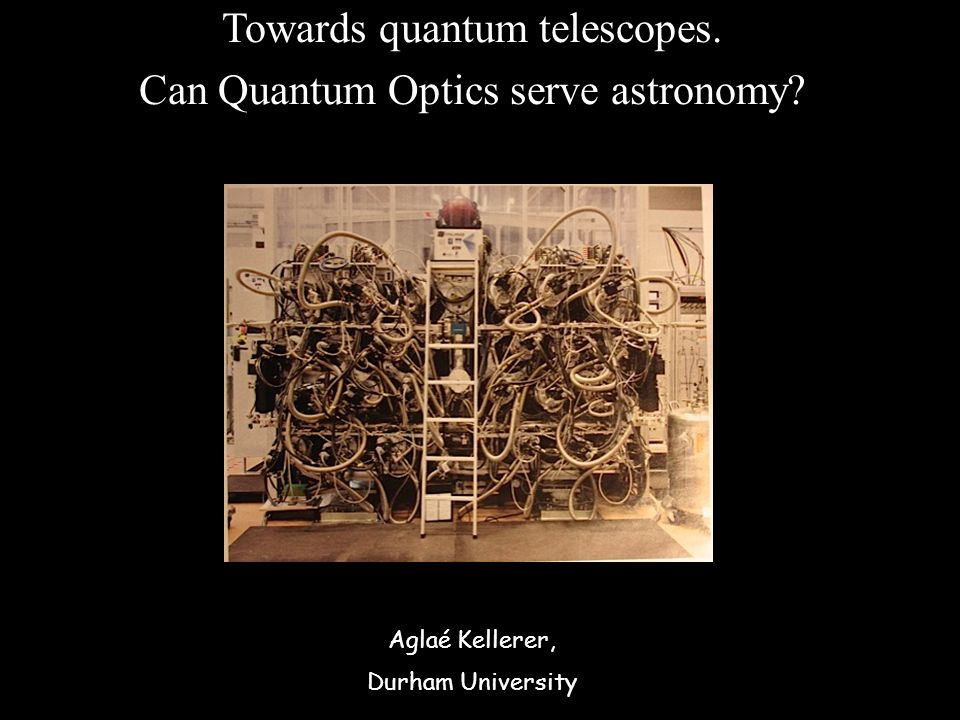 Towards quantum telescopes. Can Quantum Optics serve astronomy