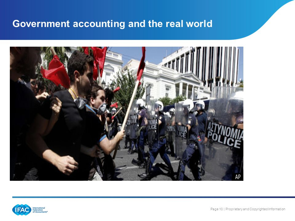 Government accounting and the real world