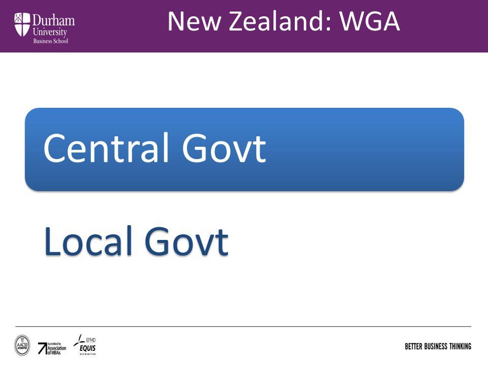 New Zealand: WGA Central Govt Local Govt