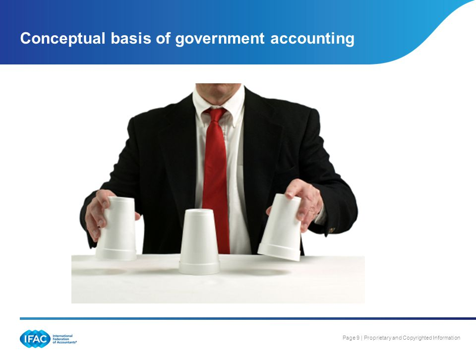 Conceptual basis of government accounting
