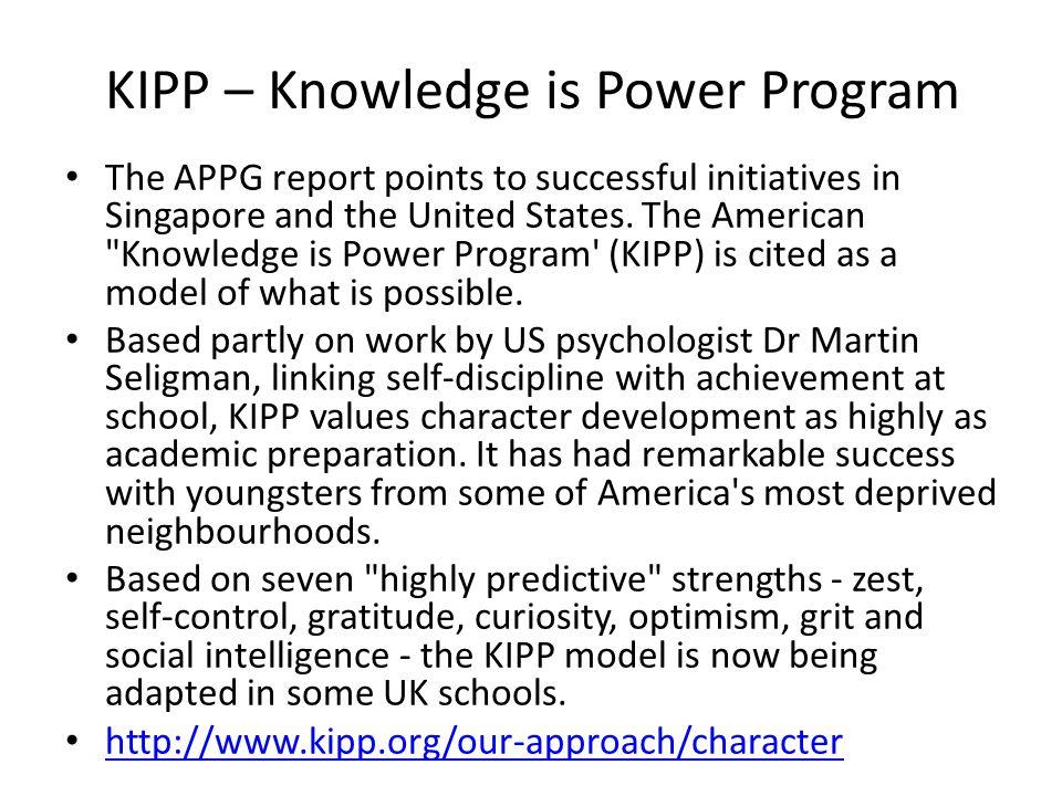 KIPP – Knowledge is Power Program