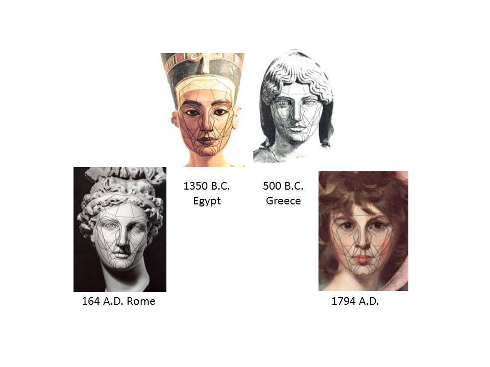 164 A.D. Rome 1794 A.D. 1350 B.C. Egypt 500 B.C. Greece