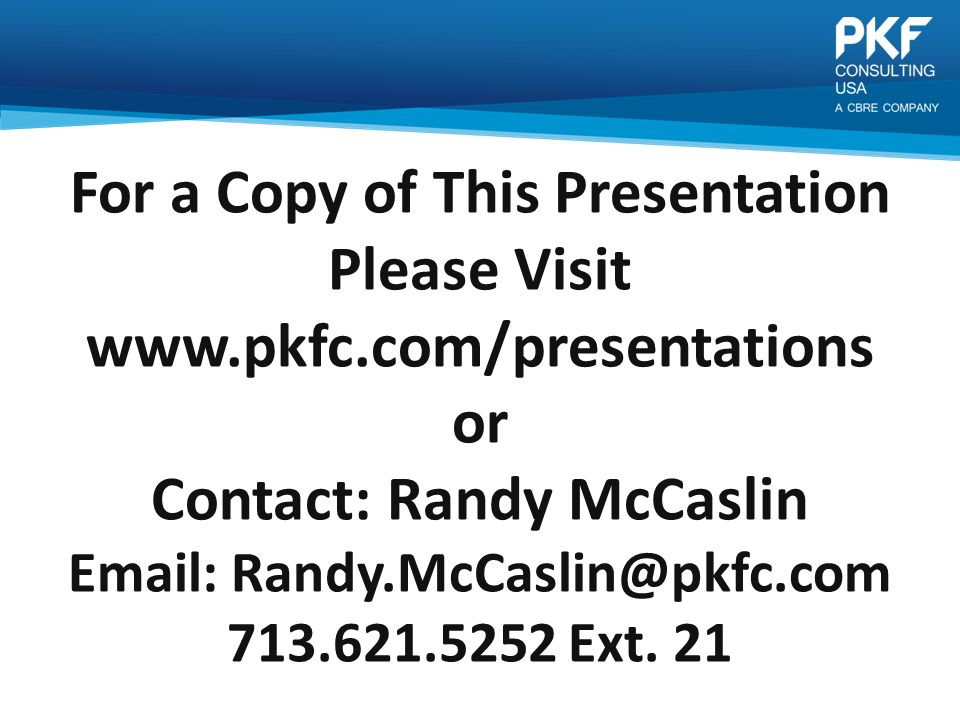 For a Copy of This Presentation Please Visit