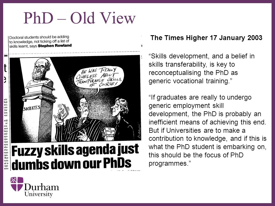 The Times Higher 17 January 2003