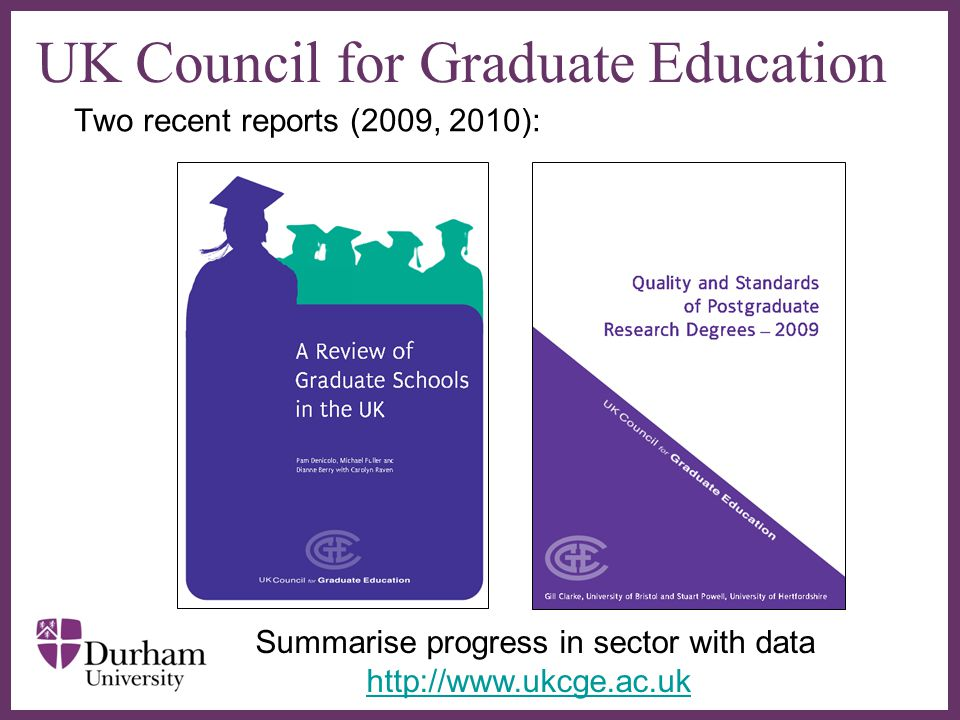 UK Council for Graduate Education