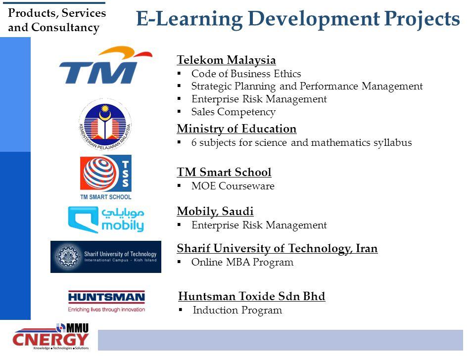 E-Learning Development Projects