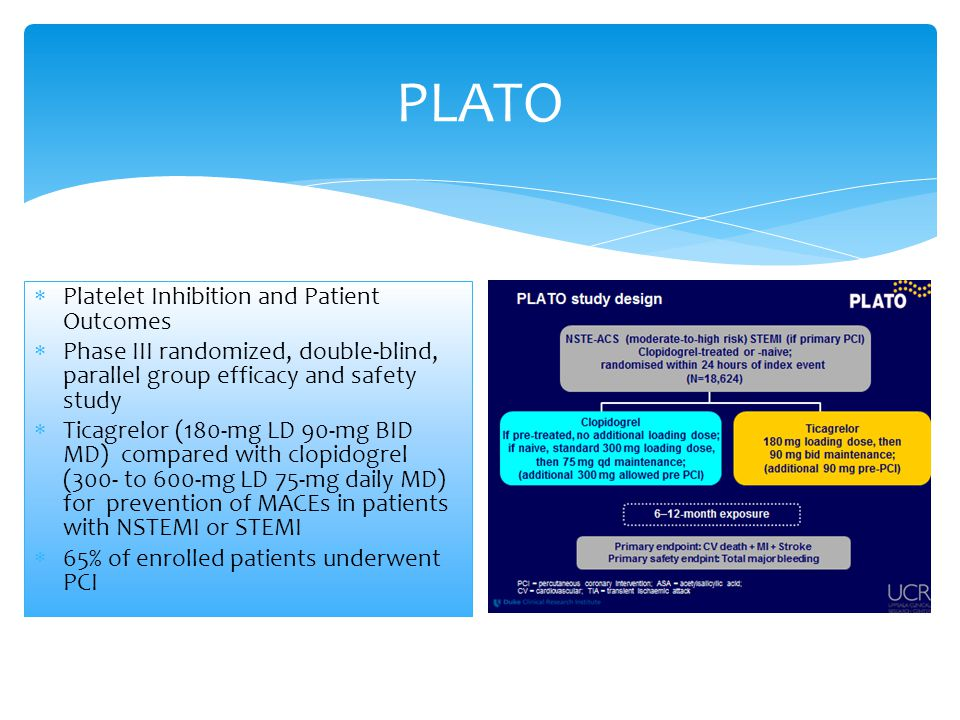 PLATO Platelet Inhibition and Patient Outcomes