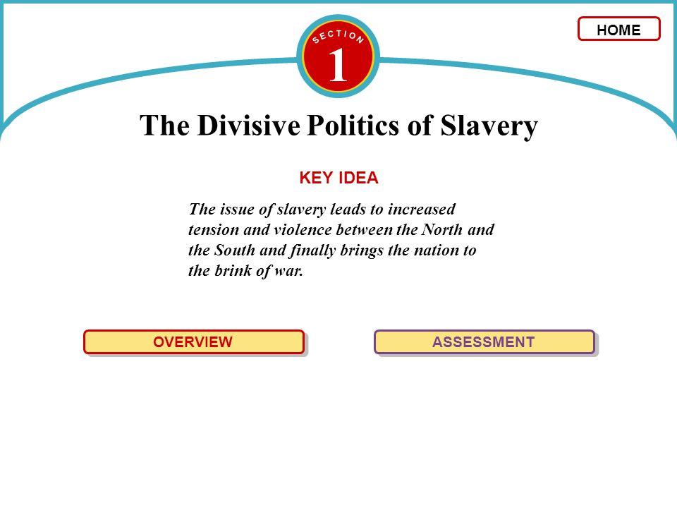 The Divisive Politics of Slavery