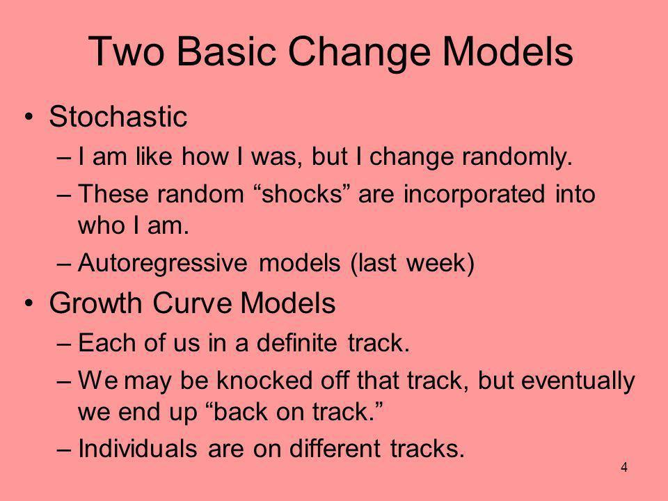 Two Basic Change Models