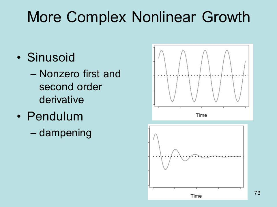 More Complex Nonlinear Growth
