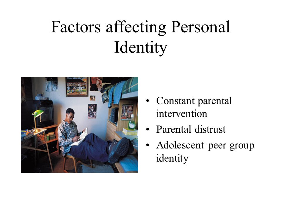 Factors affecting Personal Identity