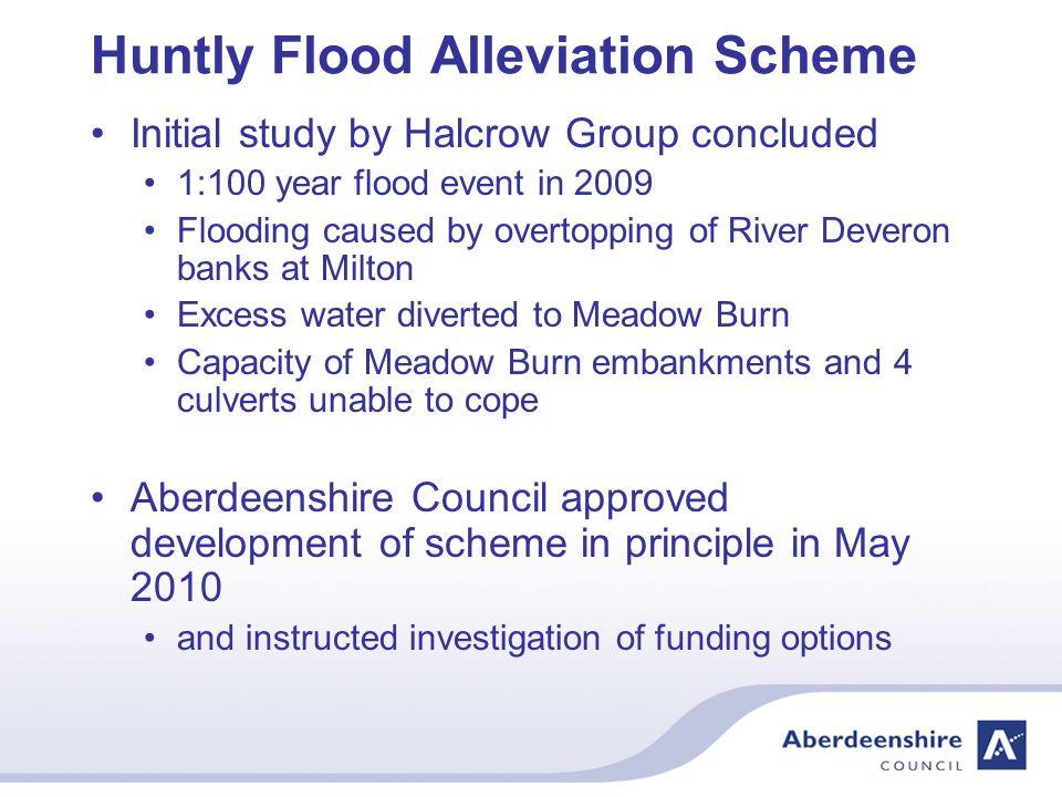 Huntly Flood Alleviation Scheme