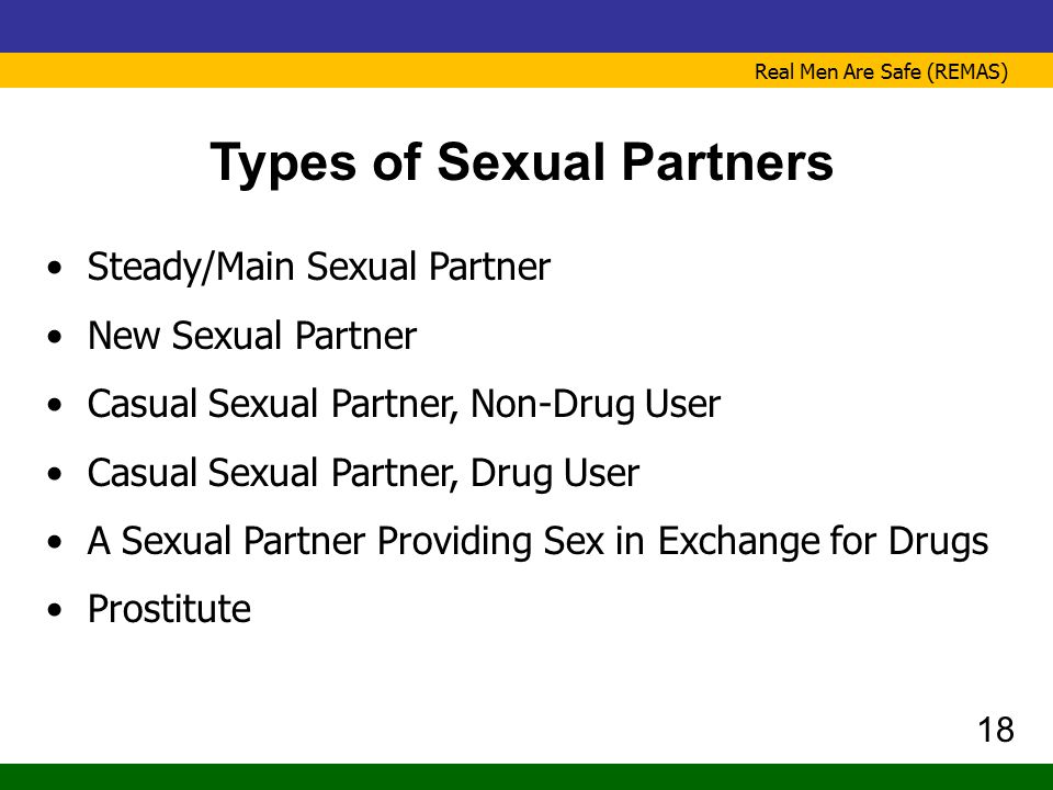 Types of Sexual Partners