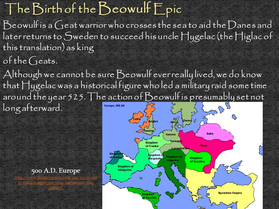 The Birth of the Beowulf Epic