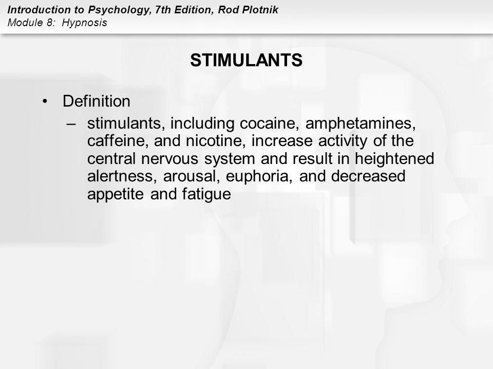 STIMULANTS Definition