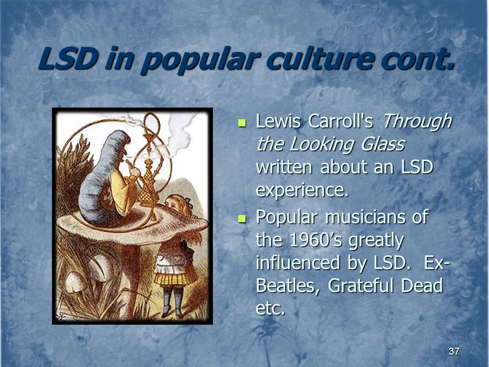 LSD in popular culture cont.