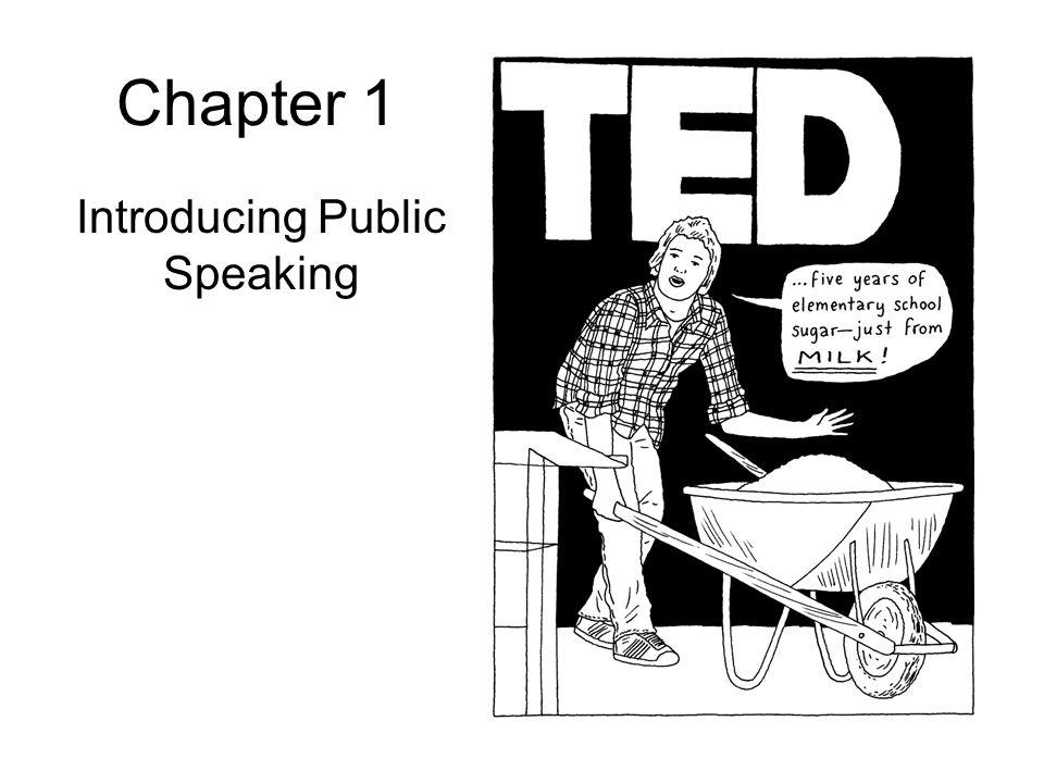 Introducing Public Speaking