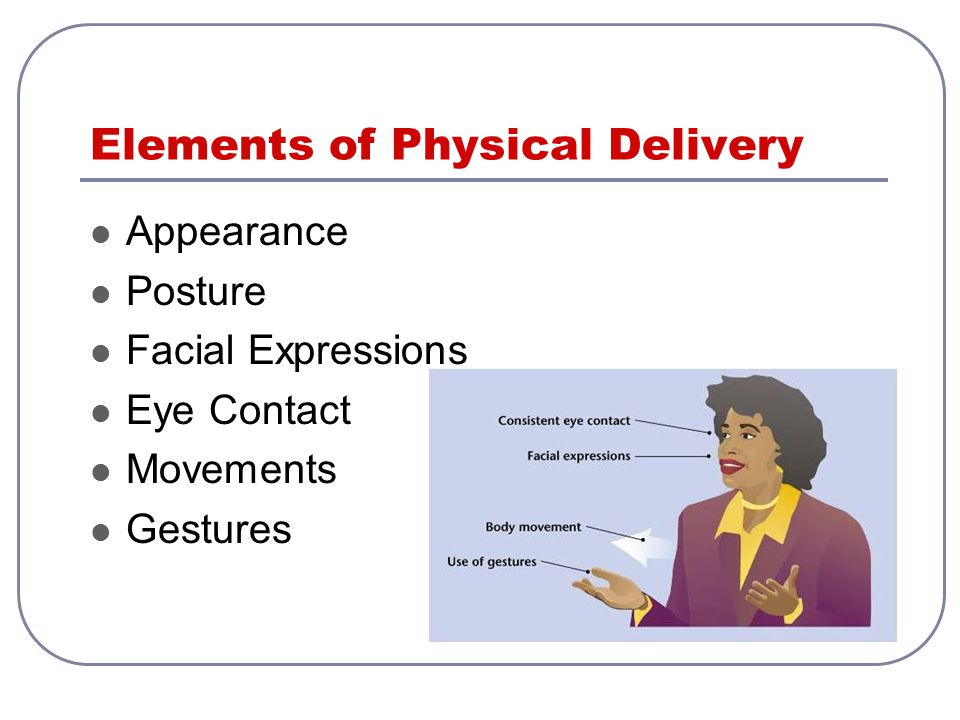 Elements of Physical Delivery