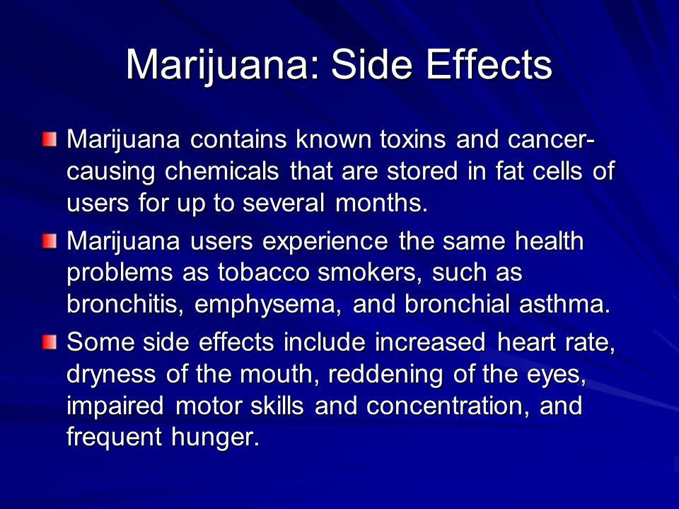 Marijuana: Side Effects