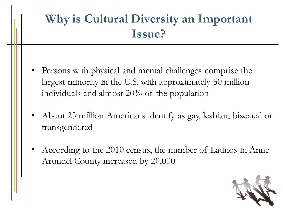 Why is Cultural Diversity an Important Issue