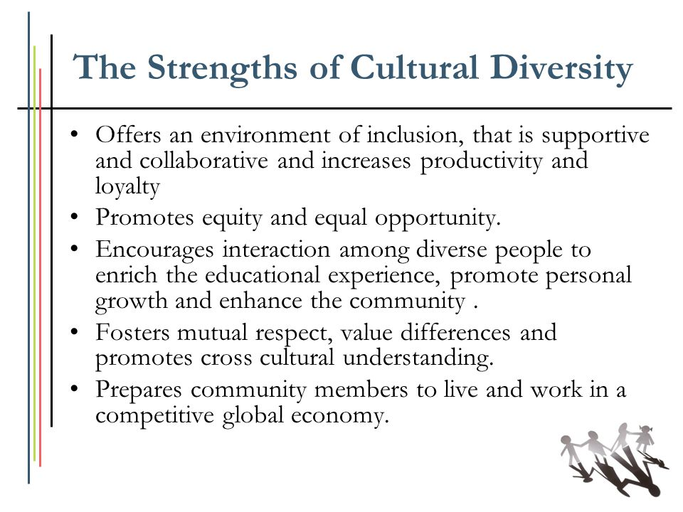 The Strengths of Cultural Diversity